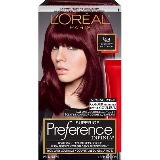Loreal Preference Red Hairstyle Inspirations 2018