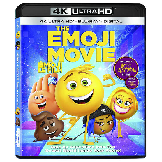 The Emoji Movie - UHD 4K Blu-ray