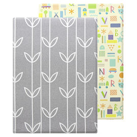 Baby Care Soft Playmat - Sea Petals Grey - Small