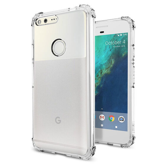 Spigen Crystal Shell Case for Google Pixel XL- Clear - SGPF15CS20912