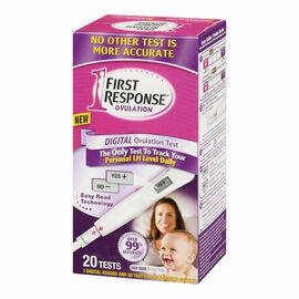 First Response Digital Ovulation Test - 20 Tests
