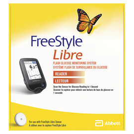 Abbott FreeStyle Libre Flash Glucose Monitoring System Reader - 71550-01