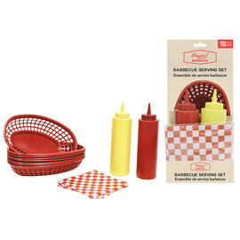 BBQ Serving Set - 18 pieces