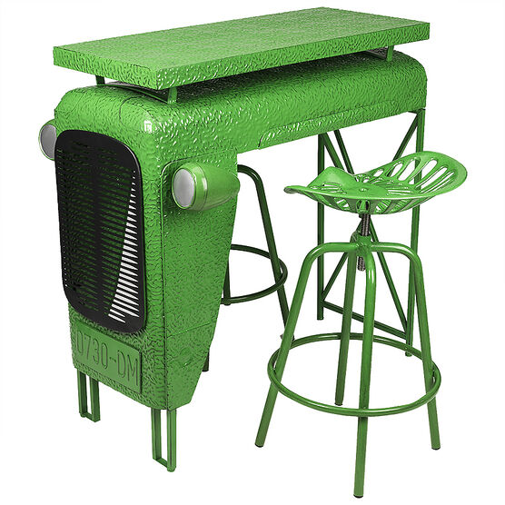 Tractor Table & Chairs Set - 3 piece