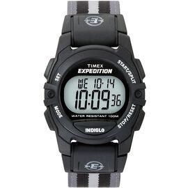 Timex Expedition Chrono Alarm Timer - Black/Grey - 49661