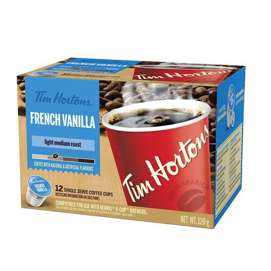 Tim Hortons French Vanilla - 12 pack