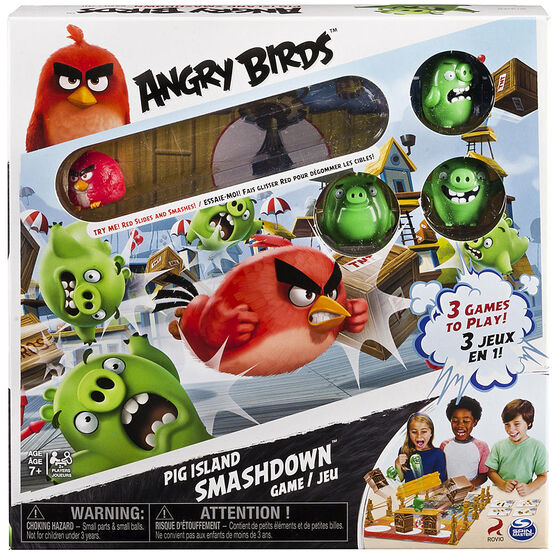Angry Birds Pig Island Smash Game