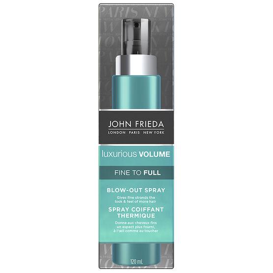 John Frieda Luxurious Volume Fine to Full Blow-Out Spray - 120ml