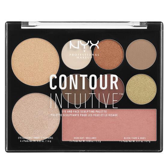 NYX Professional Makeup Contour Intuitive Palette - Warm Zone