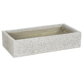 Fontina Concrete Rectangle Planter