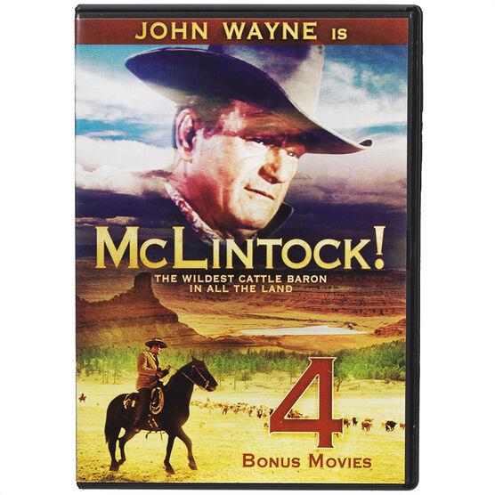 McLintock with 4 Bonus Movies - DVD