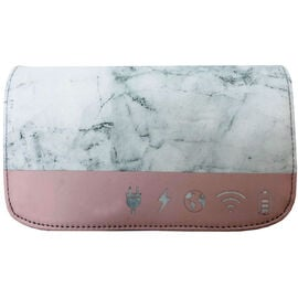 My Tagalongs Charger Case - Marble & Pink - 57022