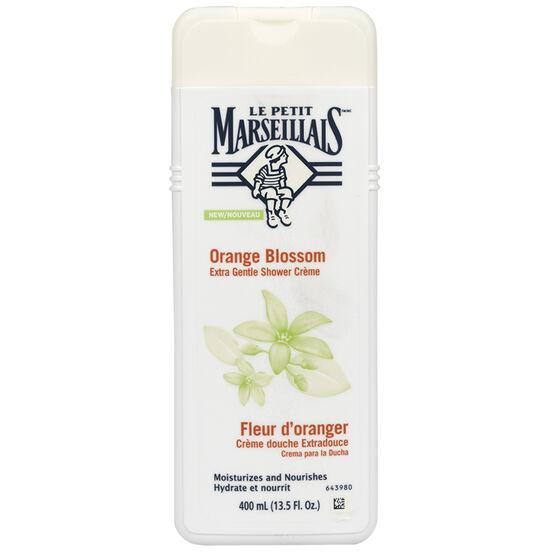 Le Petit Marseilials Shower Creme - Orange Blossom - 400ml