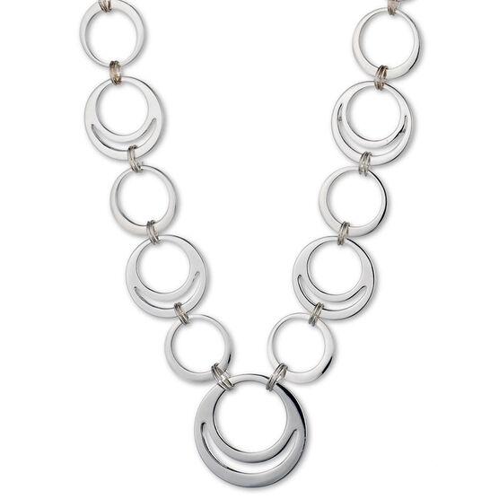 Nine West Collar Necklace - Silver