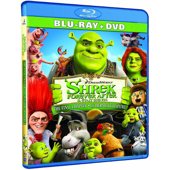 Shrek Forever After - Blu-ray + DVD