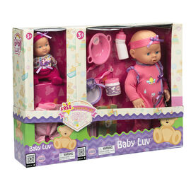 Baby Luv Gift Set - 2 Dolls