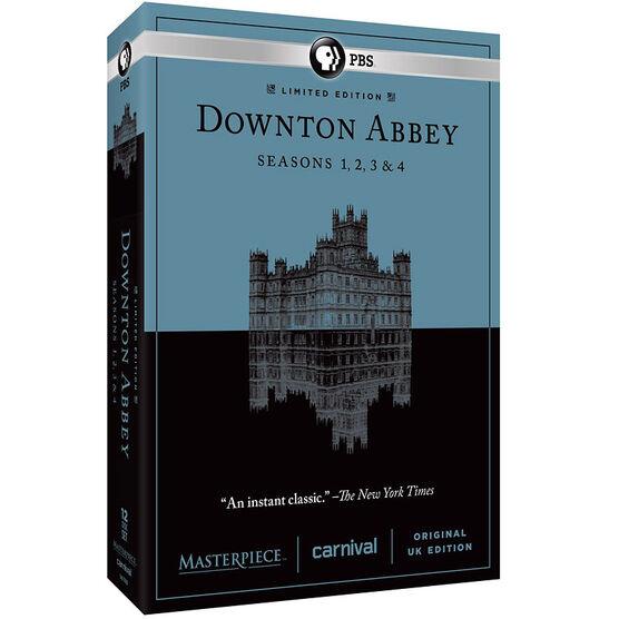 Downton Abbey: Seasons 1-4 - DVD
