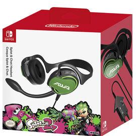 Hori Nintendo Switch Splatton Chat Headset - NSW-047U