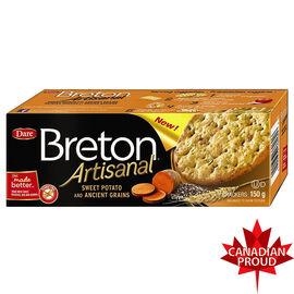 Breton Artisanal Crackers - Sweet Potato and Ancient Grains - 150g