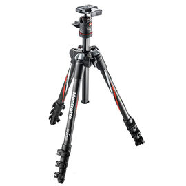 Manfrotto Befree Carbon Fiber Tripod Kit with Ball Head - MKBFRC4-BH