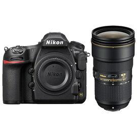Nikon D850 with Nikon AF-S FX 24-70mm F2.8E VR Lens Kit - PKG #13670
