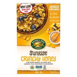 Nature's Path Sunrise Gluten Free Cereal - Crunchy Honey - 300g