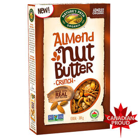 Nature's Path Organic Nut Butter Crunch Cereal- Almond - 284g