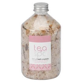 Tea Spa Bath Crystals - Sandalwood Rose - 620g