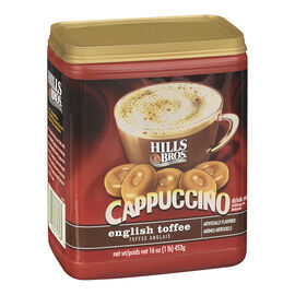 Hills Bros Cappuccino Drink Mix - English Toffee - 453g