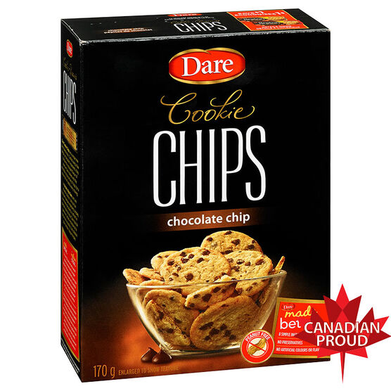 Dare Cookies - Chocolate Chip - 170g