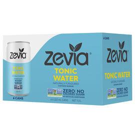 Zevia Mixers - Tonic Water - 6x222ml