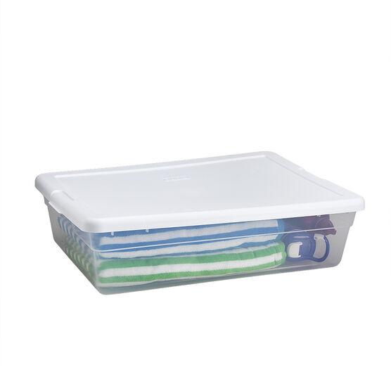 Sterilite Storage Box - Clear - 27L