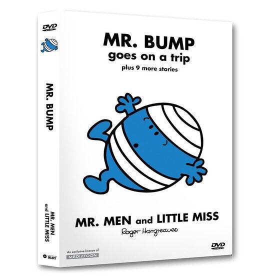 Mr. Bump Goes On A Trip - DVD