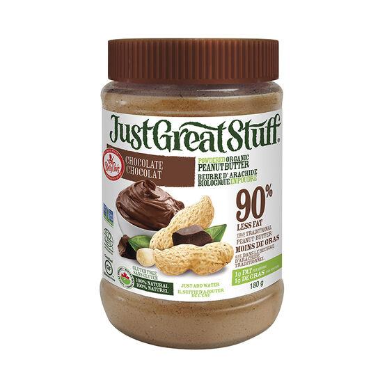 BettyLou's Organic Chocolate Powdered Peanut Butter - 180g