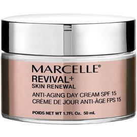 Marcelle Revival+ Skin Renewal Anti-Aging Day Cream SPF 15 - 50ml