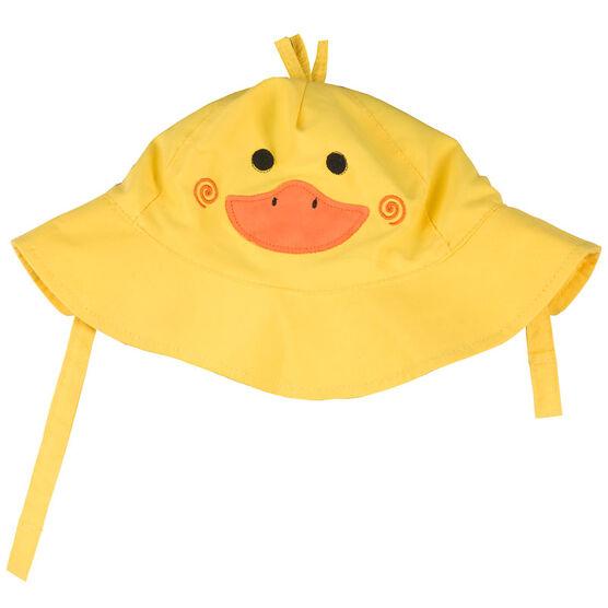 Zoocchini Baby Sun Hat - Duck - Small - ZOO403