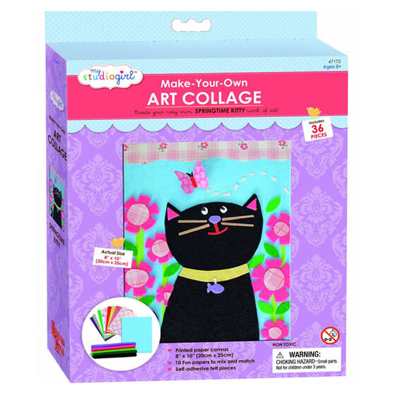 My Studio Girl Create Your Own Collage - Cat