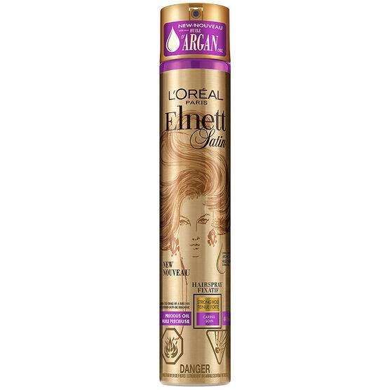 Elnett Satin Precious Oils Argan Hairspray - Strong Hold - 400ml