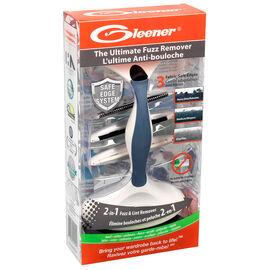 Gleener Ultimate Fuzz Remover Fabric Shaver - Slate Blue