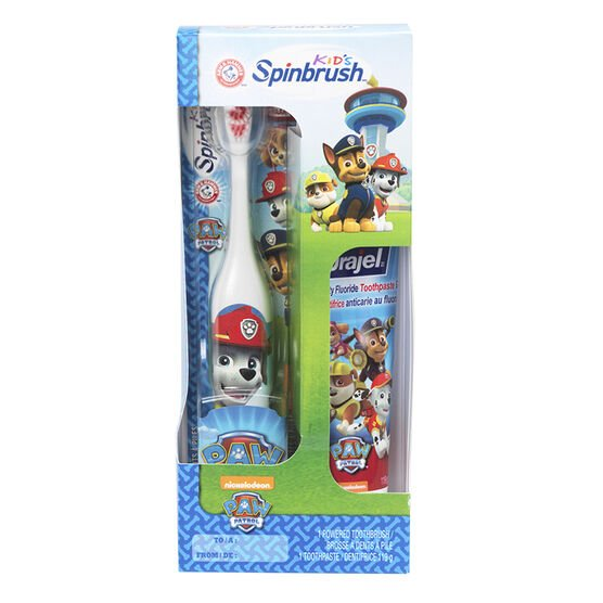 Arm & Hammer Spinbrush Kids with Toothpaste - Paw Patrol Assorted