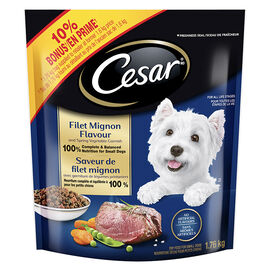 Cesar Dry Dog Food - Filet Mignon and Spring Vegetables - 1.76kg