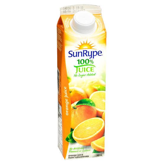 SunRype Fruit Juice - Orange - 900ml