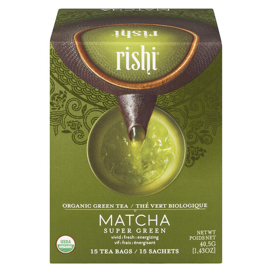 Rishi Tea Matcha Super Green - 50g