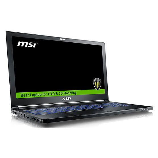 MSI WS63 7RK-298CA 3D CAD CAM Workstation Laptop - 15 Inch - Intel i7