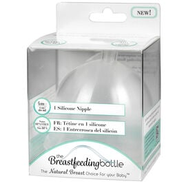 The Breastfeeding Bottle Replacement Nipple - 4+ Months - 7oz