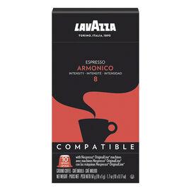 Lavazza Nespresso© Pods - Armonico Espresso 8 - 10 Pack