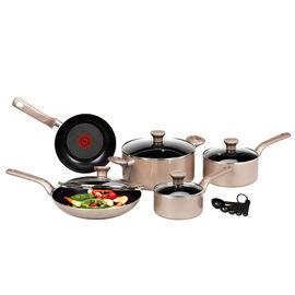 T-Fal Excite Cook Set - Bronze - 14 piece