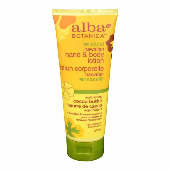 Alba Hawaiian Hand & Body Lotion - Cocoa Butter - 200ml