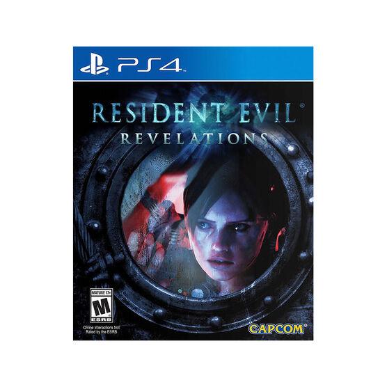 PS4 Resident Evil Revelations