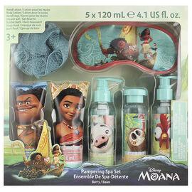Moana Pampering Spa Set - 5 x 120ml